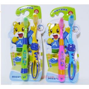 Детский набор - 2 зубные щетки Тигренок