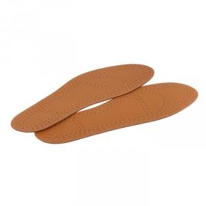 Стельки для обуви кожаные, универсальные