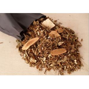 Турмалиновая подушка-валик с 36 видами трав