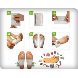 Детоксикационные турмалиновые пластыри  Kinoki (КИНОКИ)1 курс  на 10 дней