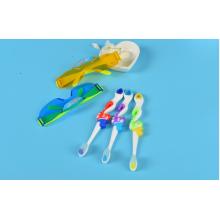 Детский набор - зубная щетка и очки