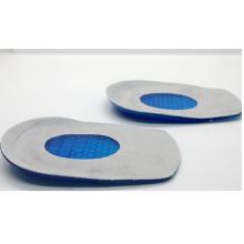 Ортопедические стельки под пятку гелевые с замшевым покрытием 2 шт