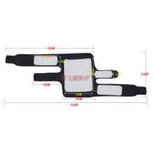 Накoленник турмaлиновый с четырьмя лечебными зонами + магнитные вставки