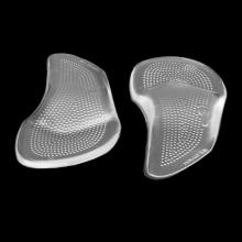 Силиконовая вставка для обуви на каблуках при продольном плоскостопии, (2шт)