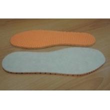 Зимние спортивные стельки из EVA-материала, плотного войлока и фольги, плоские