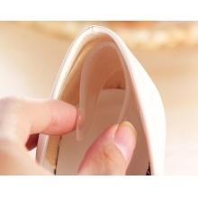 Силиконовые вкладыши в заднюю часть обуви от мозолей, 1 пара